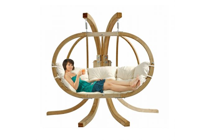 Hanging Chair with Stand 'Globo Royal' Natura