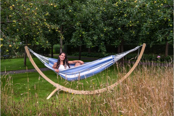 Hammock Stand Single 'Wood' Second Chance