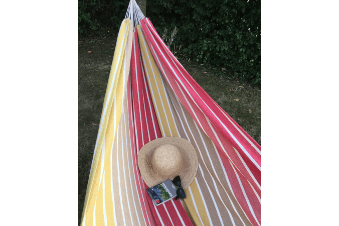 Hammock Double 'Barbuda' Earth
