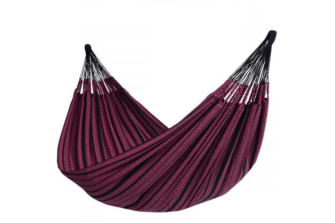 Hammock with Family Stand 'Wood & Black Edition' Rose