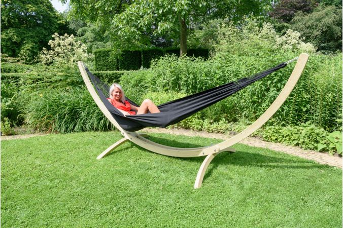 Hammock Double 'Comfort' Black