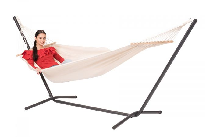 Hammock with Single Stand 'Easy & Martinque' Natura