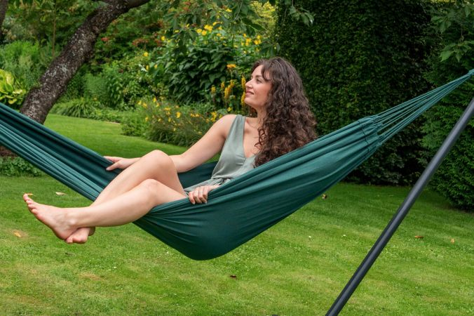Hammock Single 'Plain' Green
