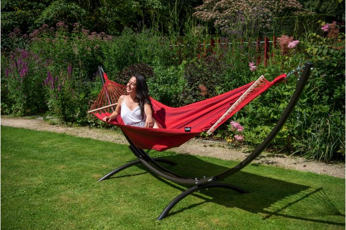 Hammock Single 'Relax' Red