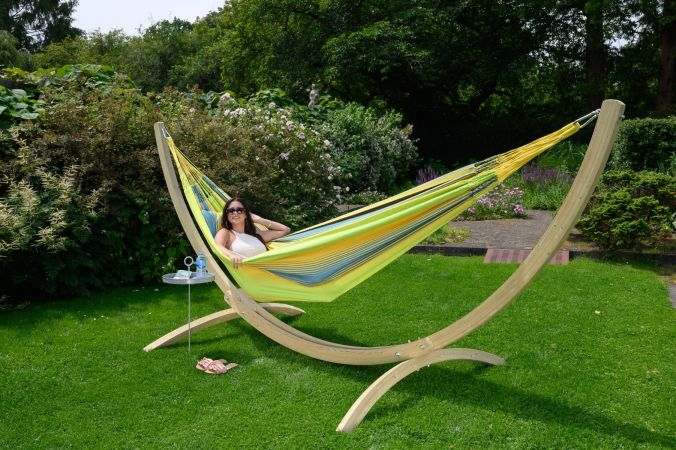 Hammock Stand Family 'Wood'