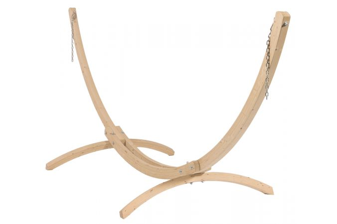 Hammock Stand Double 'Wood'