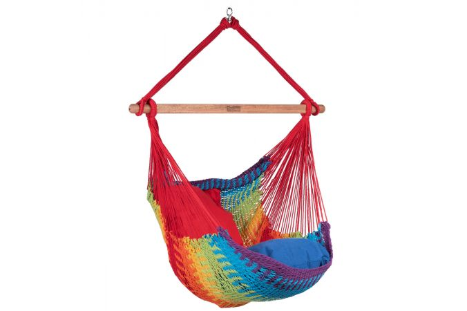 Hanging Chair Single 'Mexico' Rainbow