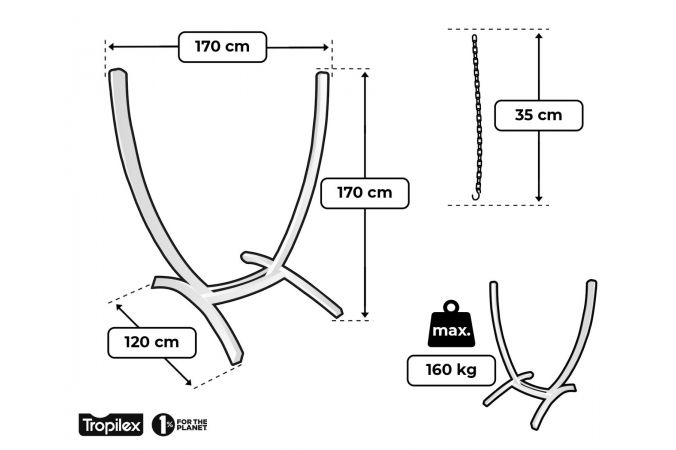 Hanging Chair Stand 'United'