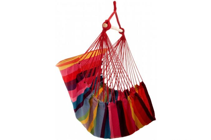Hanging Chair Single 'Trinidad' Raspberry
