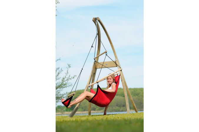 Hanging Chair Single 'Swinger' Red
