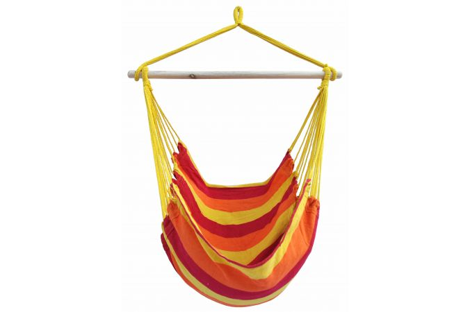 Hanging Chair Single 'Bermuda' Fire