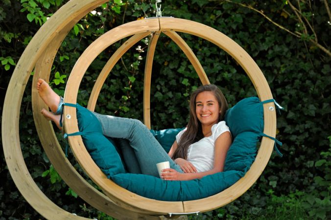 Hanging Chair Stand 'Globo'