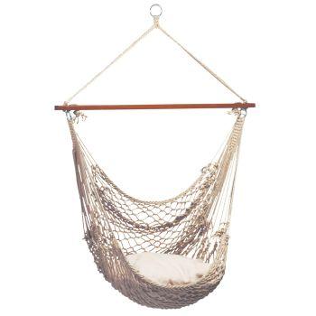 Hanging Chair Single 'Rope' Natura