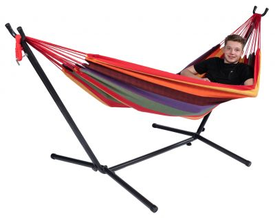 Hammock with Single Stand 'Multi' Single