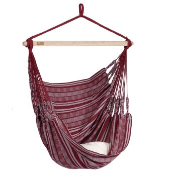 Hanging Chair Single 'Comfort' Bordeaux