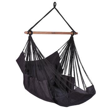 Hanging Chair Single 'Sereno' Black
