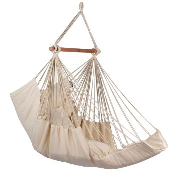 Hanging Chair Single 'Sereno' White
