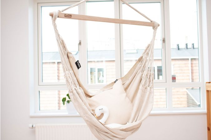 Hanging Chair Single 'Comfort' White
