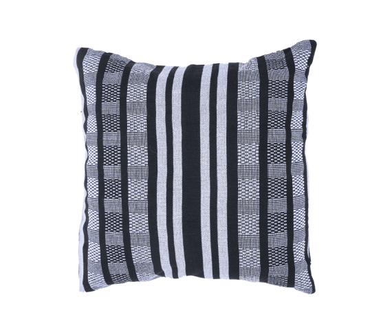 Pillow 'Comfort' Black White