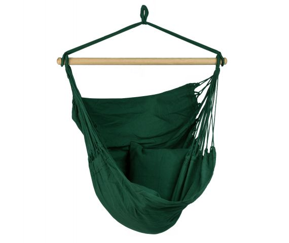 Hanging Chair Single 'Organic' Green