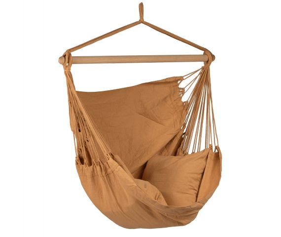 Hanging Chair Single 'Organic' Mocca