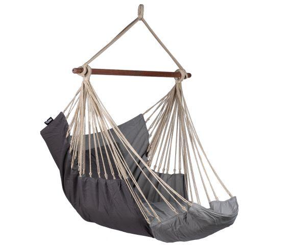 Hanging Chair Single 'Sereno' Grey