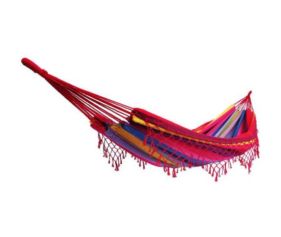 Hammock Single 'Grenada' Raspberry