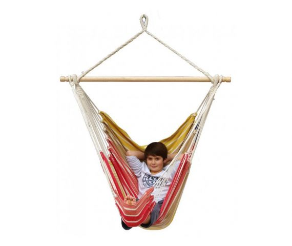 Hanging Chair Single 'Tropical' Earth Lounge