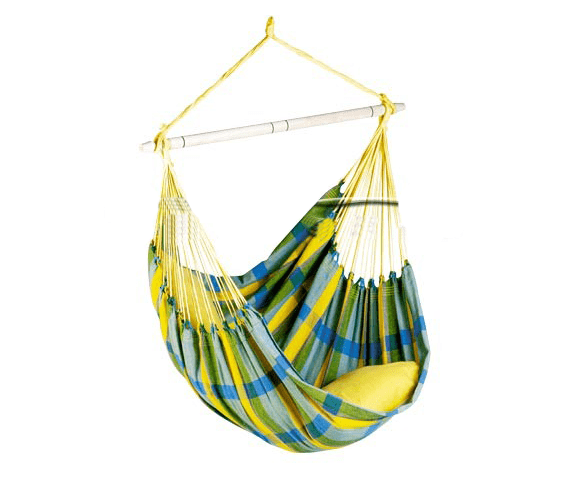 Hanging Chair Single 'Brasil' Lemon