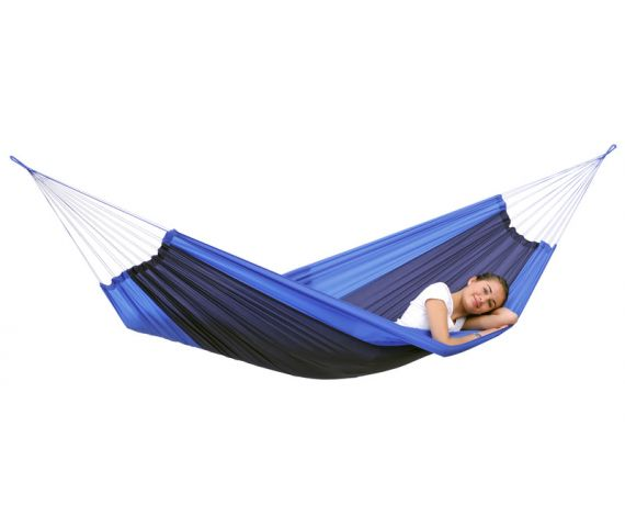 Travel Hammock 'Silk' Ocean