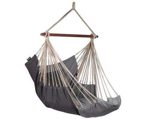 Hanging Chair Single 'Sereno' Grey